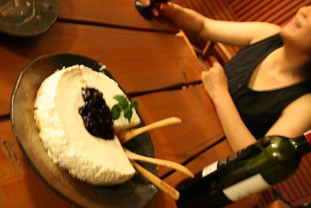 オトナのためのブルーベリーチーズケーキ