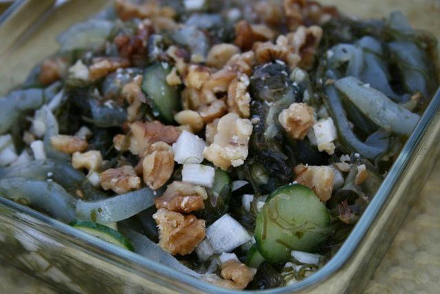 海藻とヤマイモのデトックスサラダ
