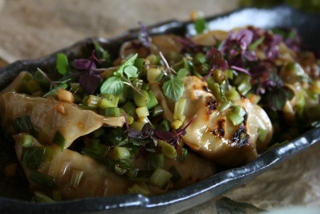豆腐と鶏肉のヘルシー餃子